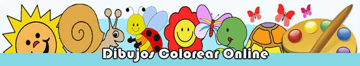 Dibujos para colorear online